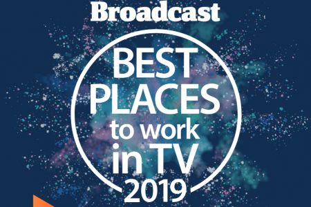 Officially one of the UK's best places to work in TV