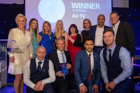 Double winners at O2 Awards