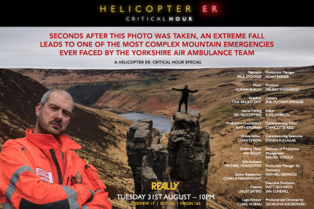 """New """"Critical Hour"""" as Helicopter ER returns to Really"""